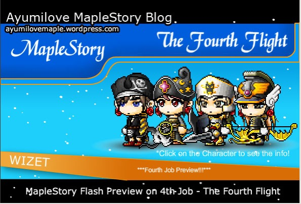 MapleStory 4th Job Preview Flash before 4th Job Patch