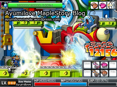 Ayumilove Return of the Papulatus MapleStory Flash Game