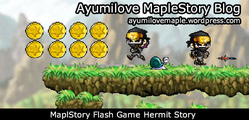 MapleStory Flash Game Hermit Story