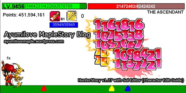 MapleStory Flash Game – HunterStory Cheat Guide | Ayumilove
