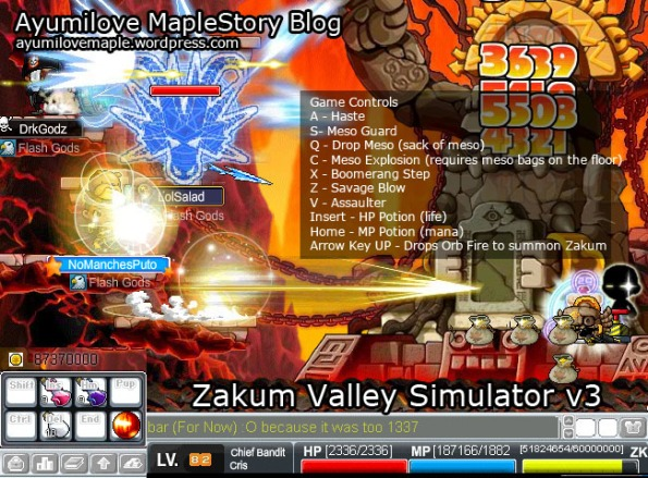 Zakum Valley Simulator v3