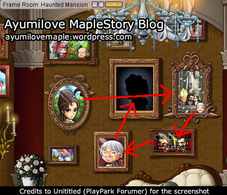 Maplestory haunted mansion guide.