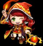 Knight of Cygnus Flame Wizard