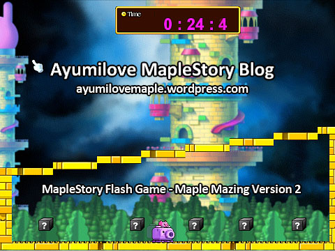 MapleStory Flash Game - Maple Mazing Version 2 (octopus)