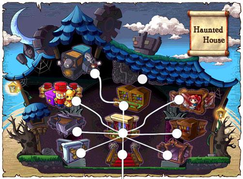 Maplestory-haunted-house-worldmap | ayumilove hidden-sanctuary for.