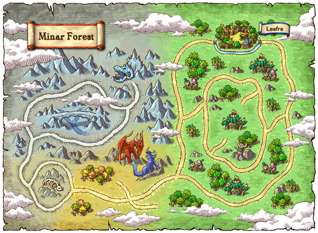 Forest Maplestory Maplestory-minar-forest