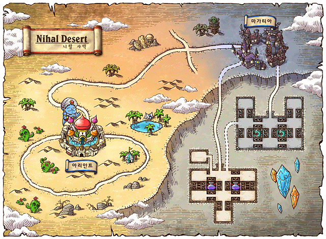deserts of world map. COMPLETE MAPLESTORY MAP – Town