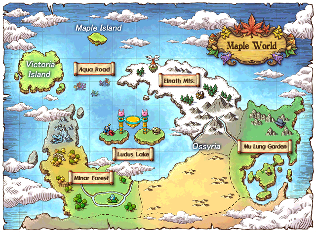 how to change world maplesea