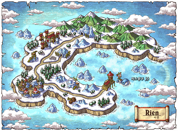 Aran MapleStory Rein Map Location