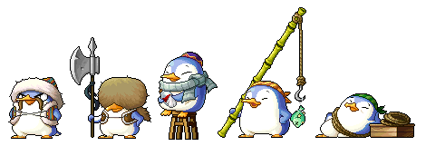 Aran NPC Penguins
