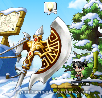 maplestory gold dragon pole arms for sale