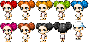 Strange Maplestory Msea And Gms Vip Hair Styles With Hair Saloon Location Hairstyles For Men Maxibearus